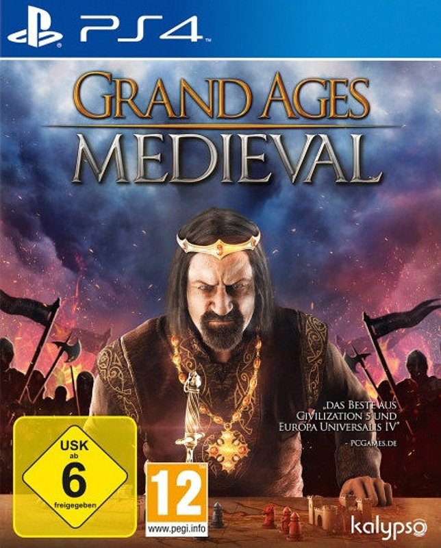 Grand Ages: Medieval Playstation 4 Bild