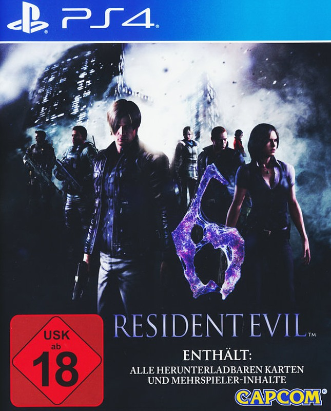 Resident Evil 6 Playstation 4 Bild