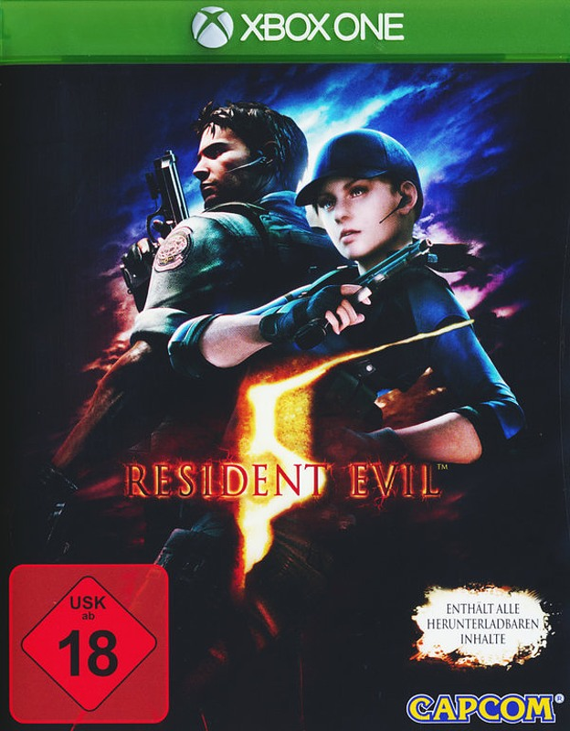 Resident Evil 5 XBox One Bild