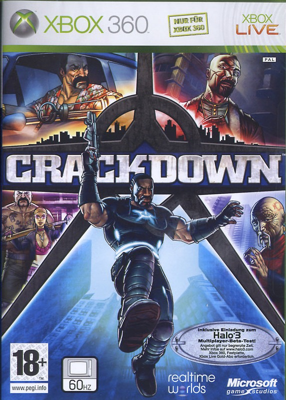 Crackdown XBox 360 Bild