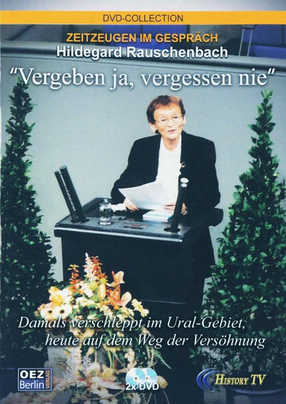 Zeitzeugen im Gespräch - H. Rauschenbach  [2DVD] DVD Bild