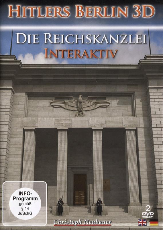 Hitlers Berlin 3D - Die Reichskanzlei  [2 DVDs] DVD Bild
