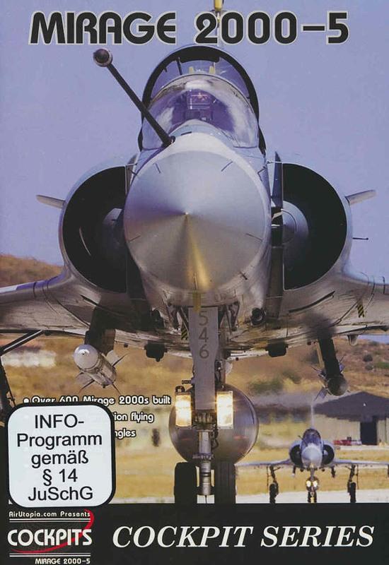 Mirage 2000-5 - Cockpit Series DVD Bild