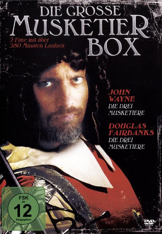 Die große Musketier-Box DVD Bild