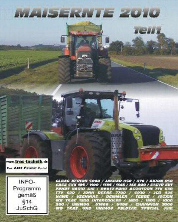 Maisernte 2010 - Teil 1  [2 DVDs] DVD Bild
