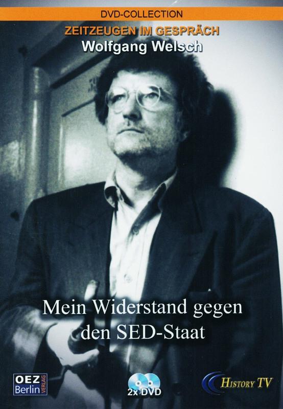 Zeitzeugen im Gespräch - Wolfgang Welsch  [2DVD] DVD Bild