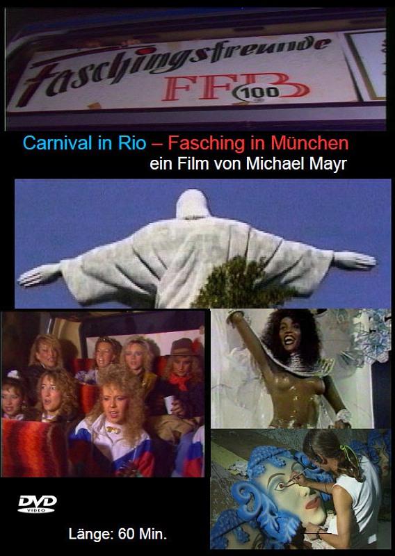 Carneval in Rio - Fasching in München DVD Bild