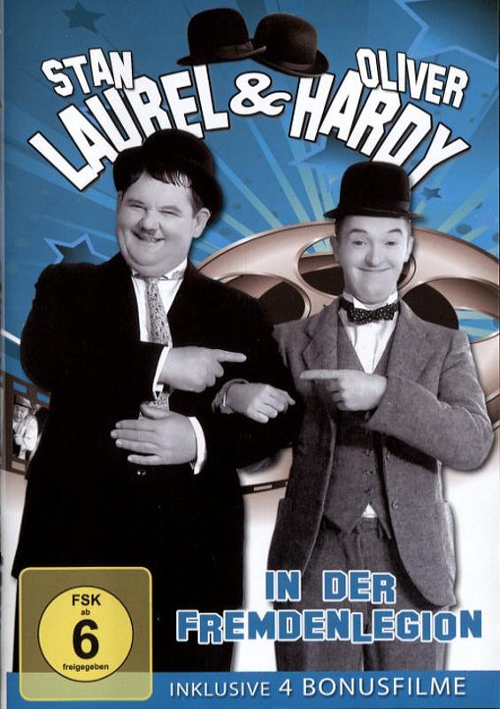 Laurel & Hardy - In der Fremdenlegion DVD Bild