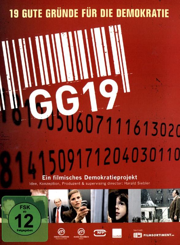 GG19 - 19 gute Gründe für die Demokratie DVD Bild