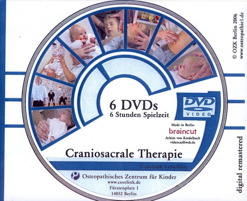 Craniosacrale Therapie  [6 DVDs] DVD Bild