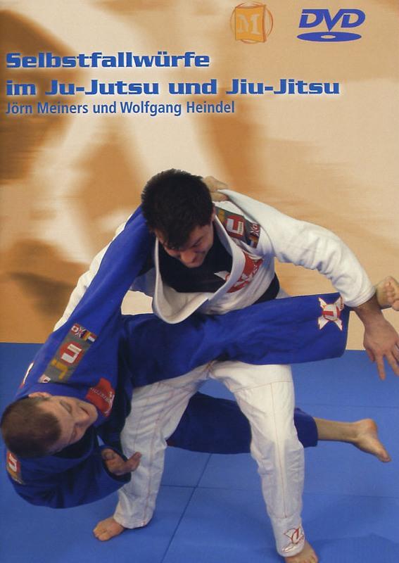 Selbstfallwürfe im Ju-Jutsu und Jiu-Jitsu DVD Bild