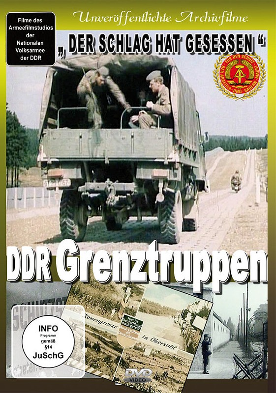 DDR Grenztruppen DVD Bild