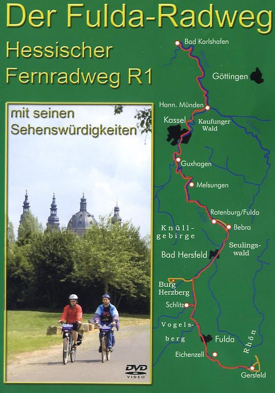 Der Fulda-Radweg - Hessischer Fernradweg R1 ... DVD Bild