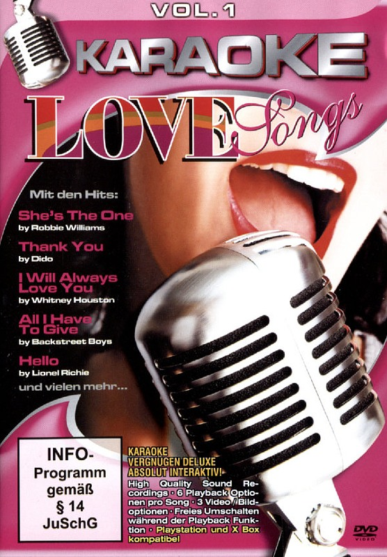 Karaoke Love Songs Vol. 1 DVD Bild