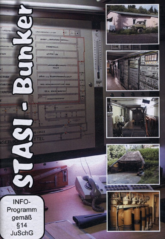 Der STASI-Bunker DVD Bild