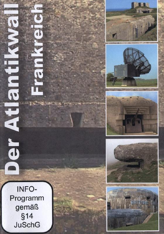 Der Atlantikwall Teil 1 - Frankreich DVD Bild