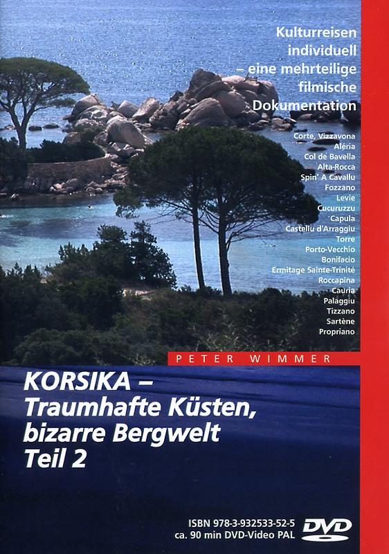 Korsika - Traumhafte Küsten, bizarre Bergwelt 2 DVD Bild