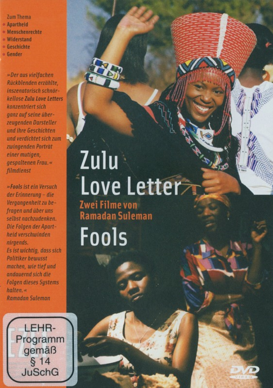 Zulu Love Letter / Fools  (OmU) DVD Bild