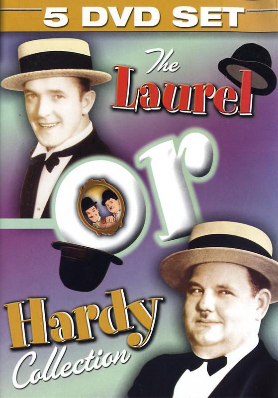 Laurel & Hardy - Collection  [5 DVDs] DVD Bild