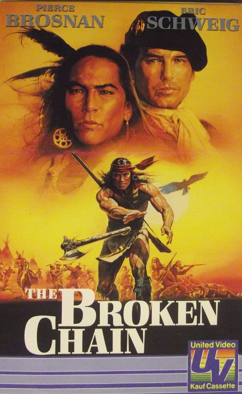 The Broken Chain VHS-Video Bild