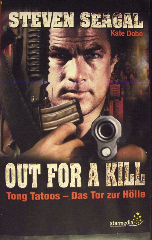 Out for a Kill VHS-Video Bild