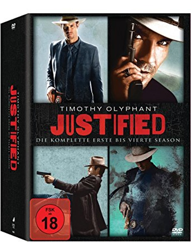 Justified DVD-Box Staffel 1-4 DVD Bild