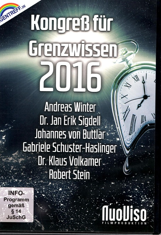 Kongreß für Grenzwissen 2016 DVD Bild