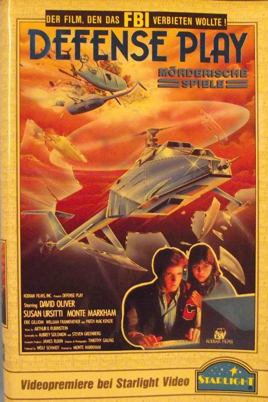 Defense Play VHS-Video Bild