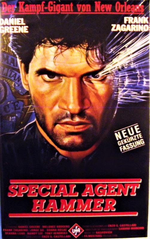 Special Agent Hammer VHS-Video Bild