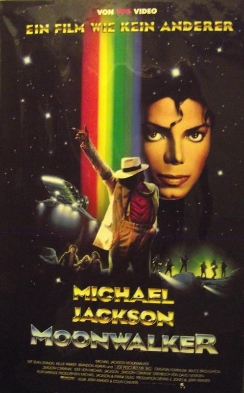 Moonwalker - Michael Jackson`s VHS-Video Bild