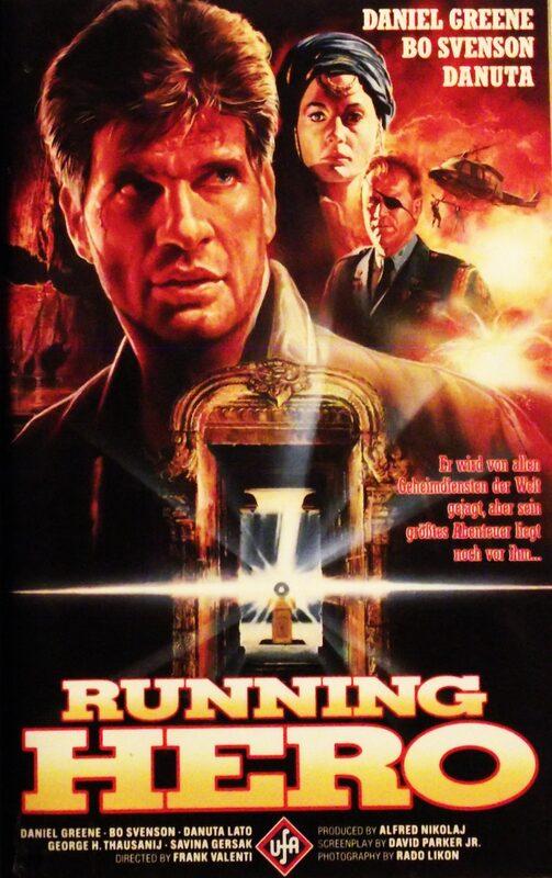 Running Hero VHS-Video Bild