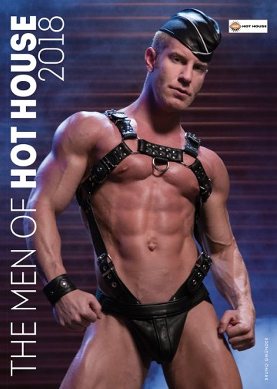 The Men Of Hot House 2018 - Wandkalender Gay Buch / Magazin Bild