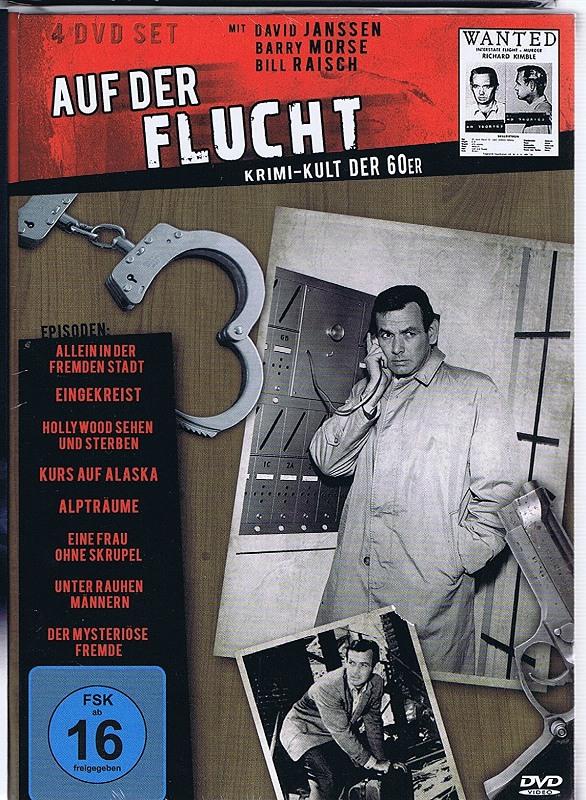 Auf der Flucht - Krimi Kult der 60er DVD Bild