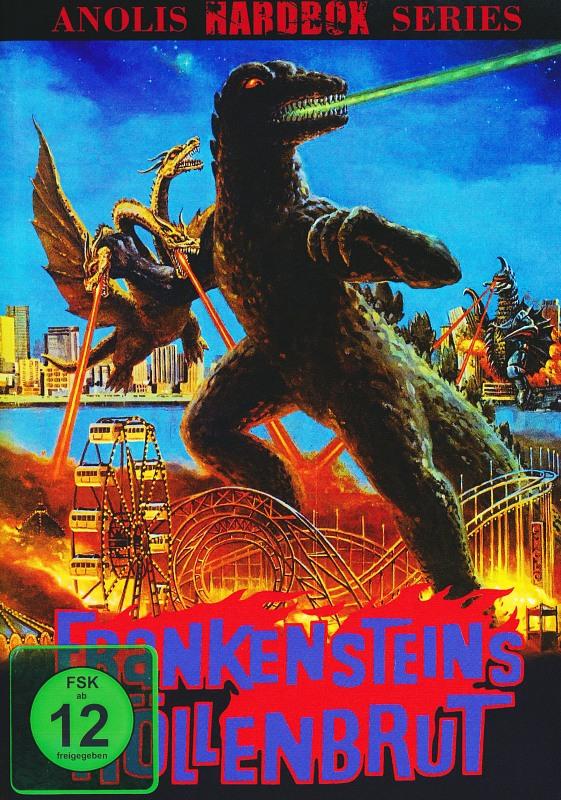 Frankensteins Höllenbrut - Anolis Hardbox Series Cover B DVD Bild