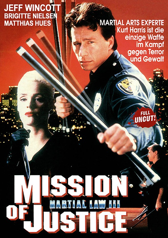 Martial Law 3 - Mission of Justice DVD Bild