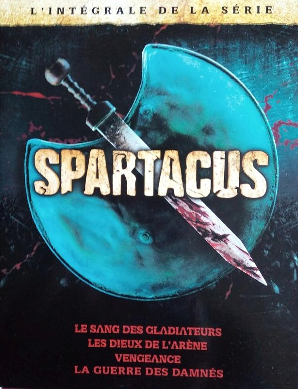 Spartacus Komplettbox (16DVDs) F DVD Bild