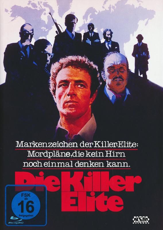 Die Killer Elite - Limited Collector's Edition [Blu-Ray+DVD] Blu-ray Bild