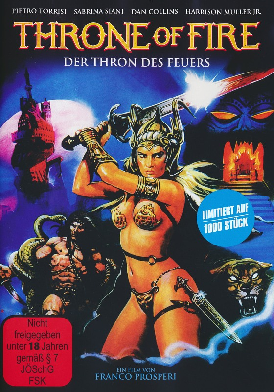 Throne Of Fire - Der Thron Des Feuers DVD Bild