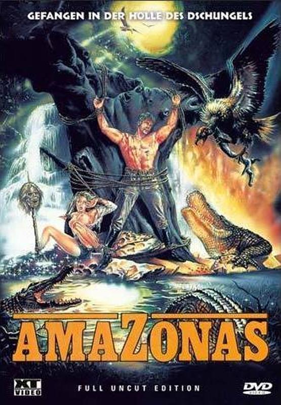 Amazonas - Full Uncut Edition DVD Bild