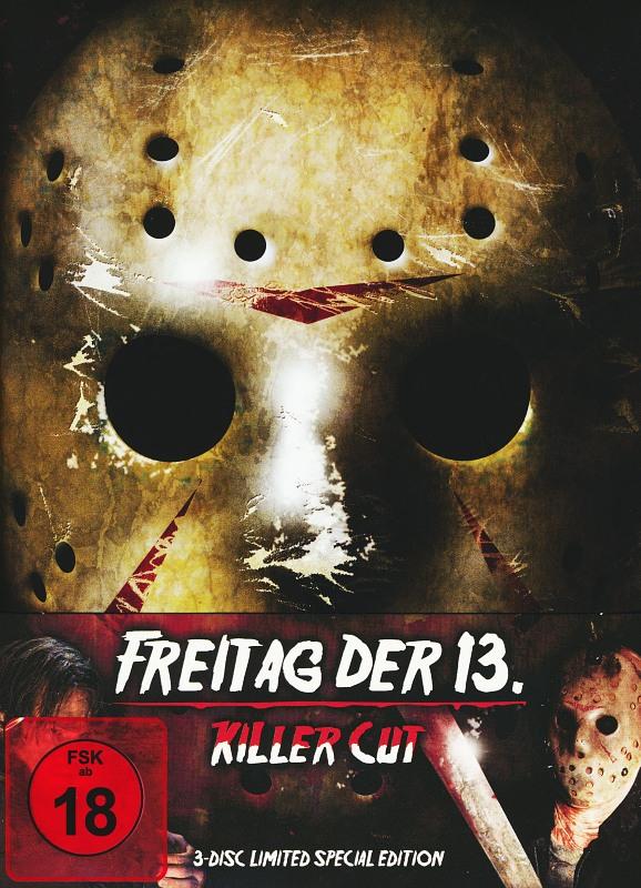 Freitag der 13. - Killer Cut - 3-Disc-Limited Mediabook Blu-ray Bild