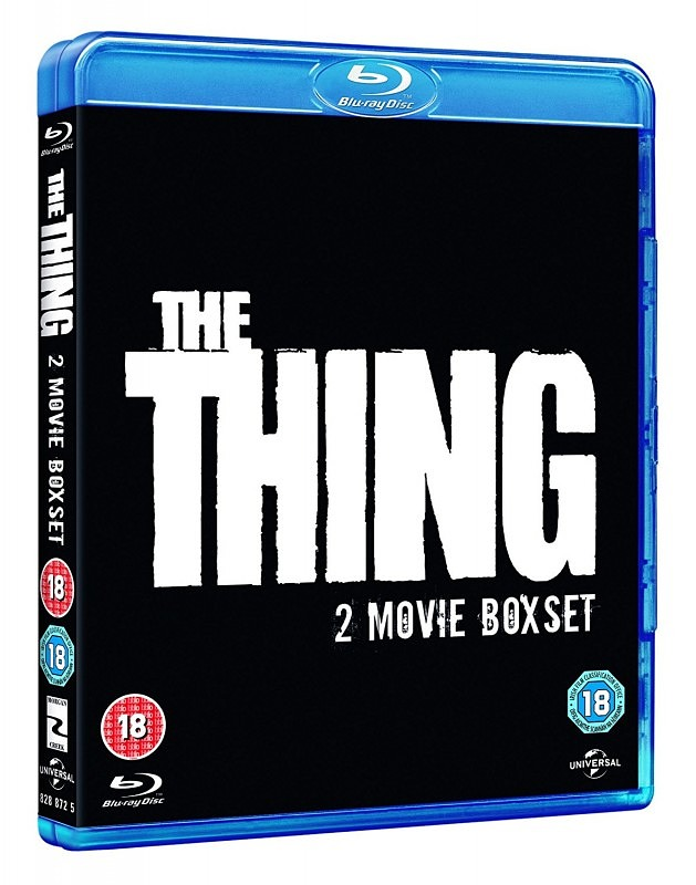 The Thing - 2 Movie Box Set UK Blu-ray Bild