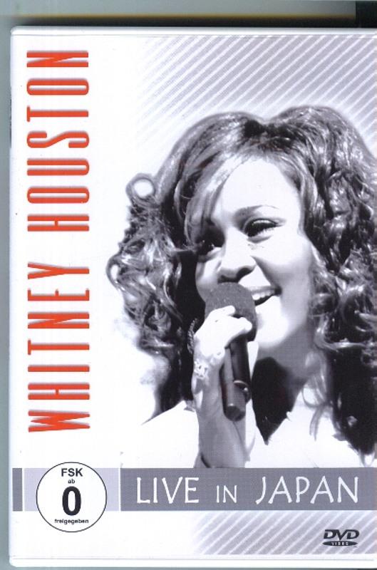 WHITNEY HOUSTON - Live in Japan DVD Bild
