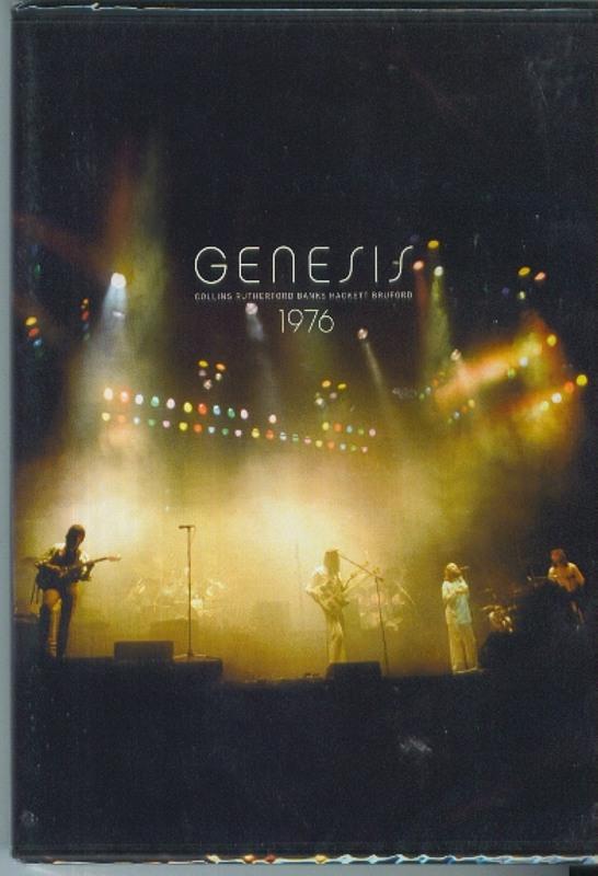 Genesis 1976 DVD Bild