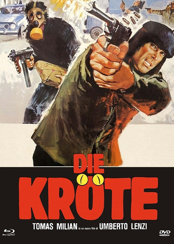 Die Kröte - Limited Mediabook Blu-ray Bild