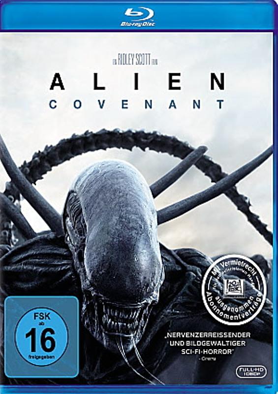 Alien 5 - Covenant Blu-ray Bild
