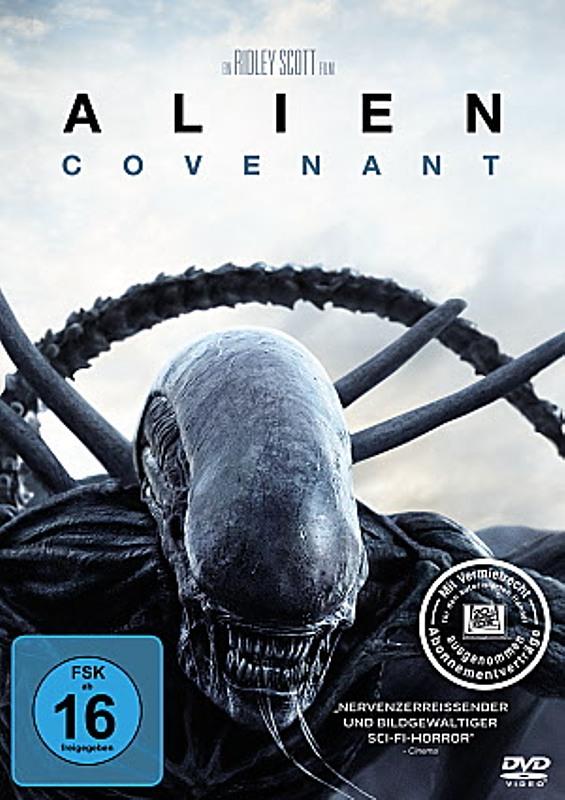 Alien 5 - Covenant DVD Bild
