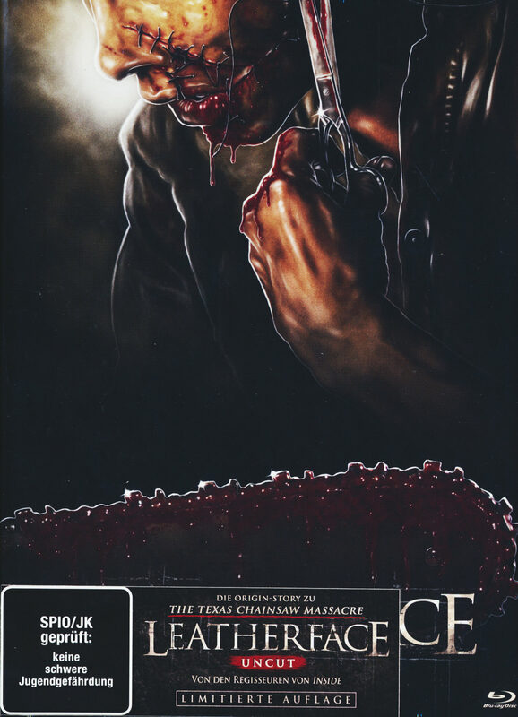 Leatherface - 2-Disc Limited Mediabook Edition - Cover C (Blu-ray+DVD) Blu-ray Bild