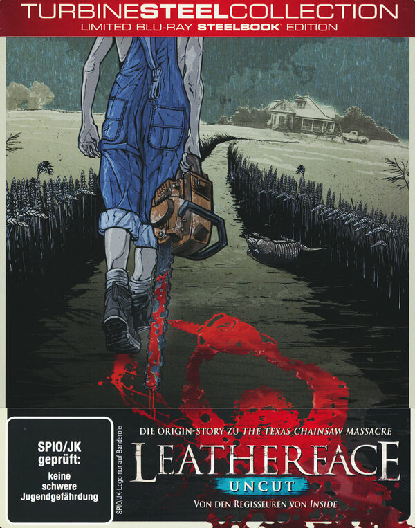 Leatherface - Turbine Steel Collection Blu-ray Bild