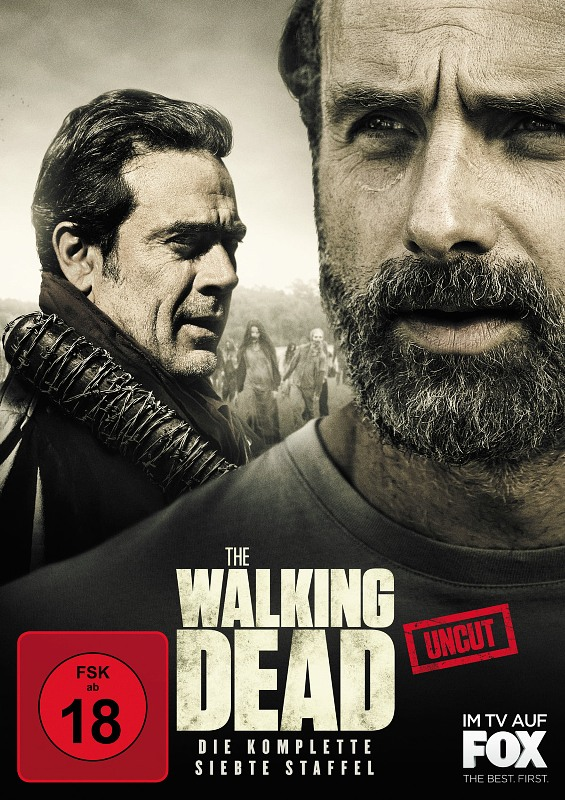 Walking Dead Staffel 7 DVD Bild