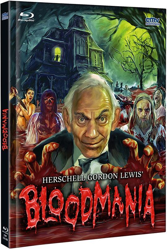 BloodMania - 2-Disc LimitedMediabook Edition - limitiert auf 666 Stk. DVD Bild